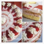 CHEESECAKE ALLO YOGURT FRAGOLE E LIMONE