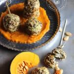 Polpette di quinoa con porri scamorza e zucca
