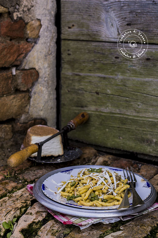 passatelli asciutti asparagi e salsiccia