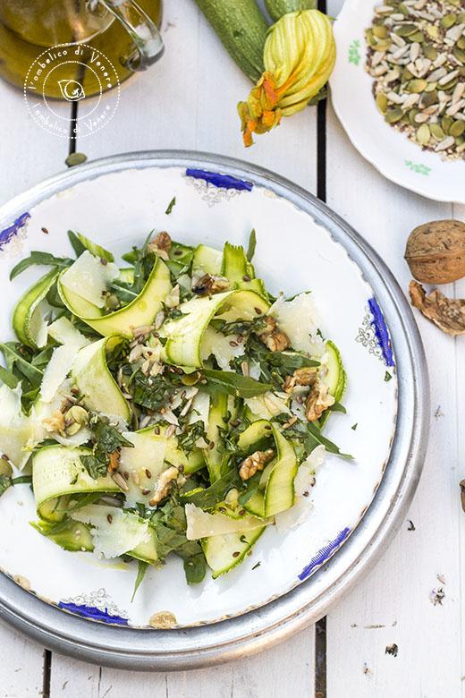 carpaccio di zucchine