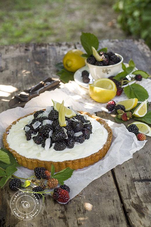 crostata cheesecake cocco e more