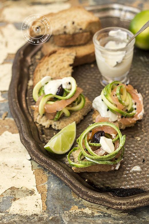 insalata di zucchine salmone e mozzarella2