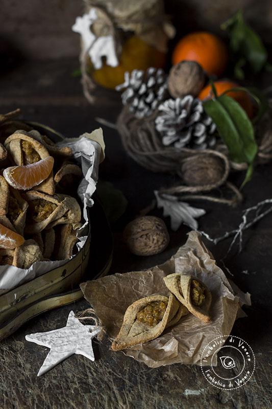 biscotti al farro integrale mandarino e noci