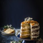 naked cake torrone e arancia