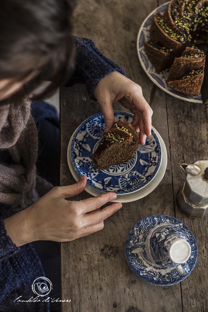 ciambella al caffè e cocco