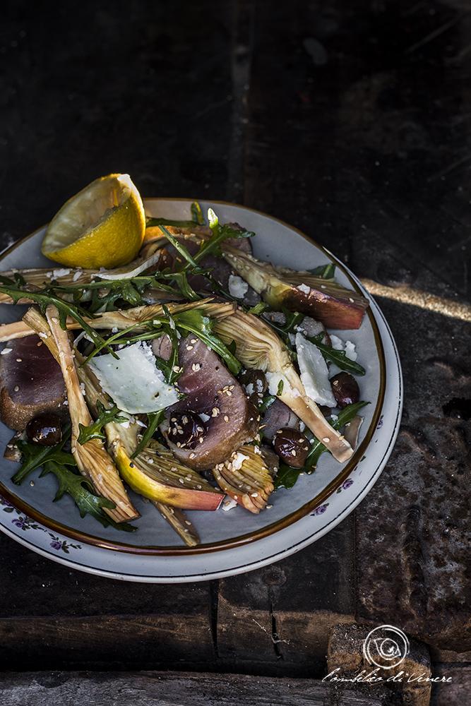 insalata di carciofi e tonno fresco (1)
