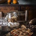 Crostata veg gluten free senza zucchero ai cachi