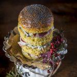 Mini panettoni salati al farro integrale
