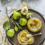 Confettura di fichi pere e limoni caramellati